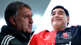 Gerardo Martino recordó entre lágrimas a Maradona.