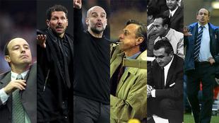 6 entrenadores que son leyenda... ¿con cuál te quedas?