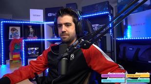 Auronplay streamer mas visto en noviembre en Twitch
