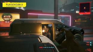 Primeras imágenes de Cyberpunk 2077 para PlayStation 5.