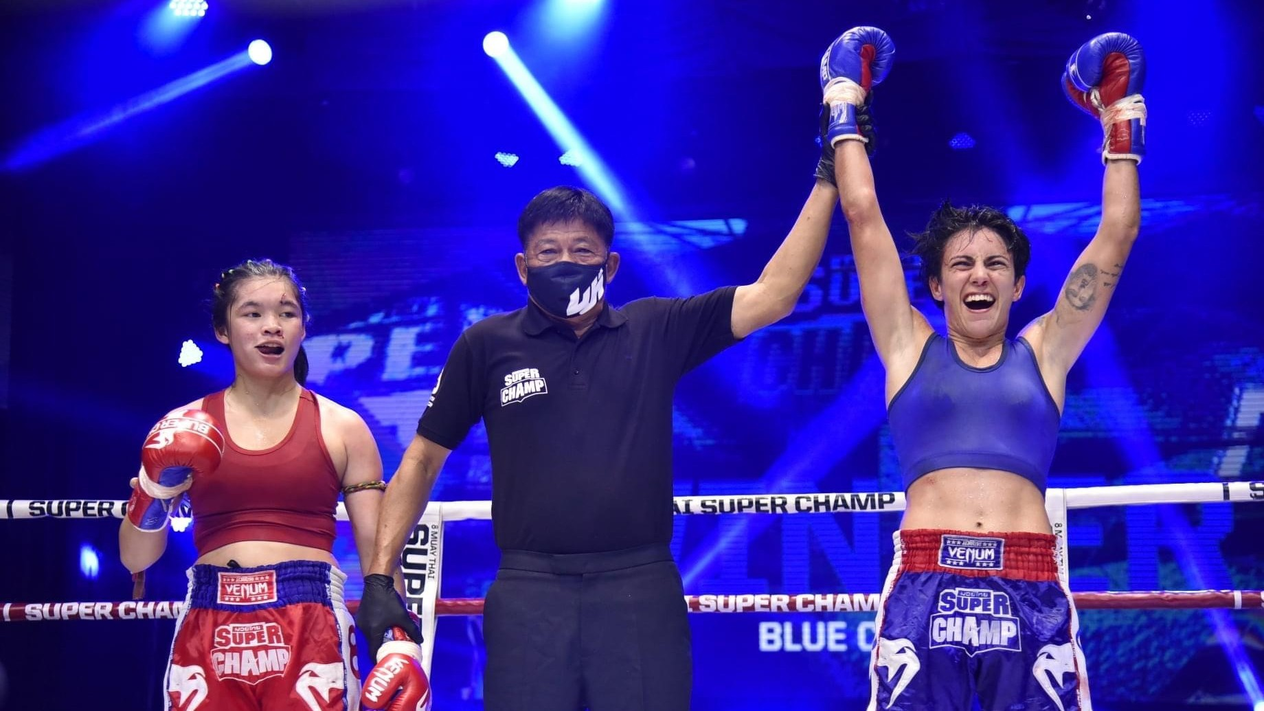 Desiree Rovira es proclamada vencedora