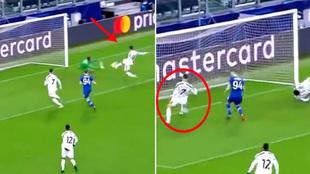 El gol de la discordia en la Juventus: ¿Le 'robó' Cristiano Ronaldo el tanto a Morata?