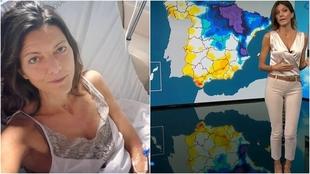 Himar Gonzalez - mujer del tiempo Antena 3 - Hospital