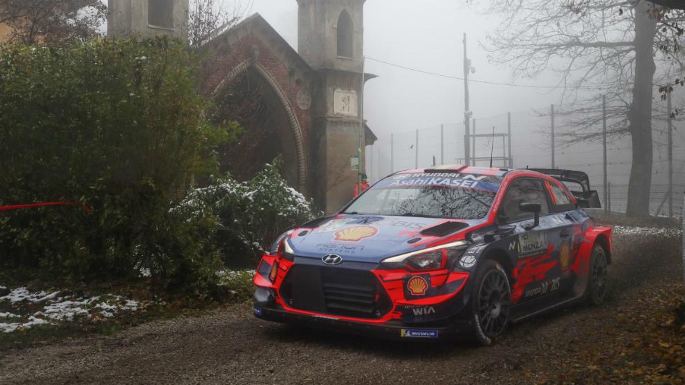 Neuville ha dominado la sesión de pruebas del Rally de Monza.