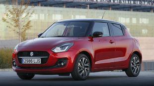El Suzuki Swift, el popular utilitario de la marca japonesa.