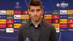 Las palabras de Morata sobre Cristiano... tras 'robarle' el gol