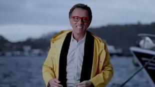 Jordi Hurtado, en el anuncio navideño de Pescanova.