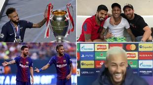 Neymar tras perder la final, con la MSN, con Leo y tras sus...