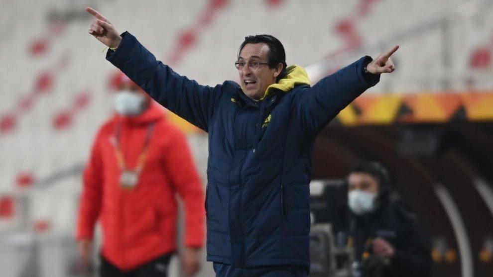 """Emery, sobre el objetivo del Villarreal en la Europa League: """"El camino dirá dónde podemos llegar"""""""