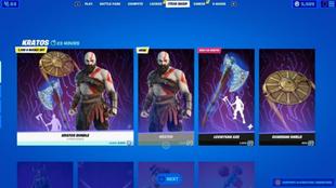 La skin de Kratos puede conseguirse de manera sencilla desde la tienda...