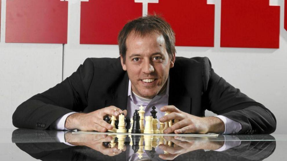 Paco Vallejo, Gran Maestro de ajedrez, en MARCA
