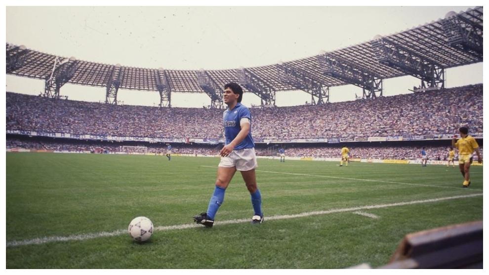 Napoli rename stadium after Diego Maradona