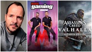 Ángel Martín, en directo: películas gamers, concurso Assassin's Creed...