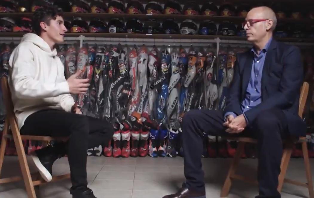 """Márquez: """"Si me dicen que la placa se podía romper no me subo a la moto, fue un error"""""""