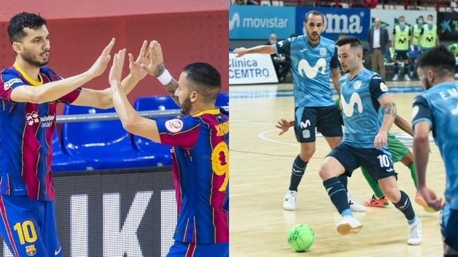 Barça y Movistar Inter imponen su ley en casa, ElPozo remonta  y Palma sigue líder