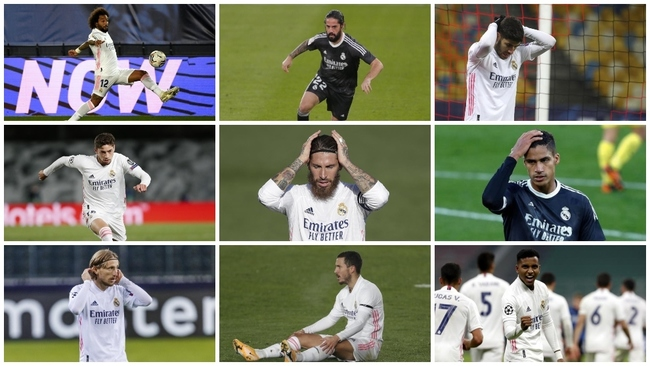 La involución de la plantilla del Real Madrid desde la Decimotercera