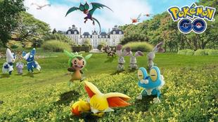 Los 3 Pokémon iniciales serán los protagonistas de la primera oleada...