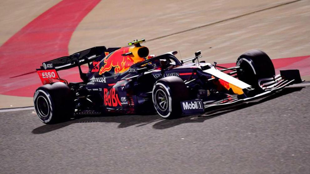 Max Verstappen, durante los Libres 3 del Gran Premio de Bahréin.