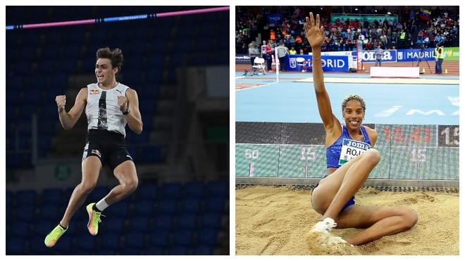 Armand Duplantis y Yulimar Rojas, elegidos los mejores atletas del año