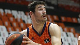 Nikola Kalinic, jugador del Valencia Basket