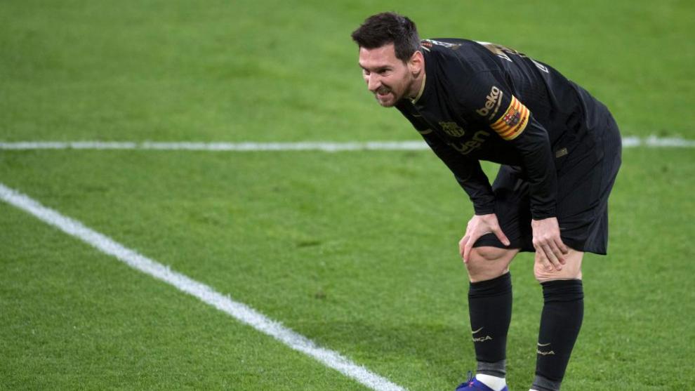 Uno a uno del Barça-Cádiz: ¿Dónde estaba Messi?