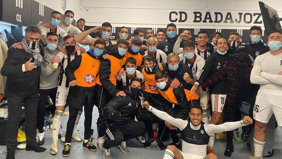 El Badajoz se hace fuerte y suma la sexta victoria consecutiva