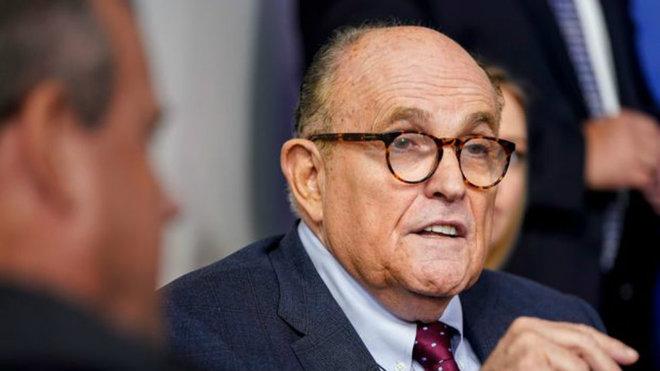 "Rudy Giuliani, abogado de Trump, dice que está ""bien"" tras infectarse de  coronavirus | Marca.com"