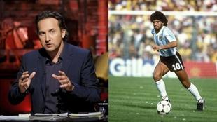 Iker Jiménez reflexiona sobre la figura de Maradona