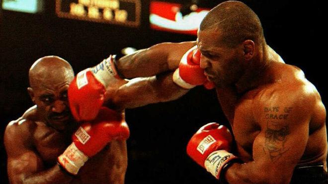 Segunda pelea entre Holyfield y Tyson.
