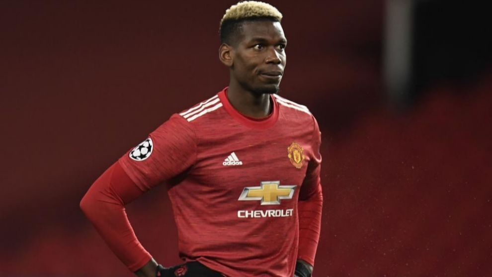 Paul Pogba with Manchester United