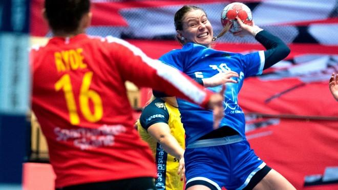 Un moment du match entre la Suède et la Russie / EFE