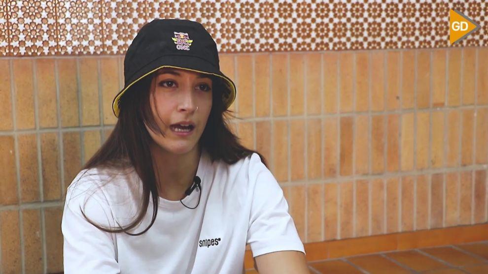 Law Garcia, en el reportaje de Granada Digital.
