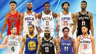 Algunas de las 15 estrellas de la NBA que podrían cambiar de equipo...