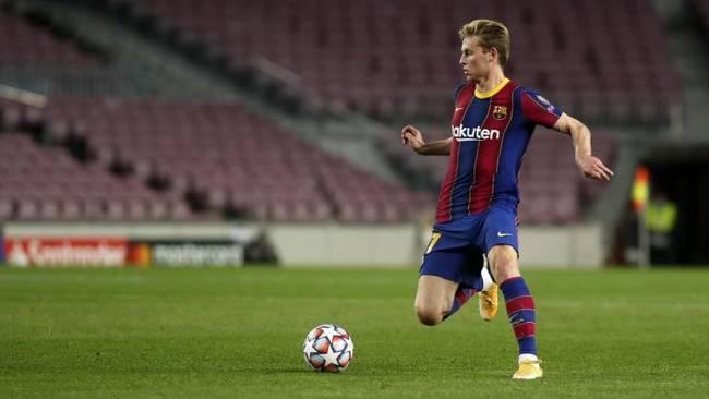 De Jong y un Barça de futbolistas intrascendentes