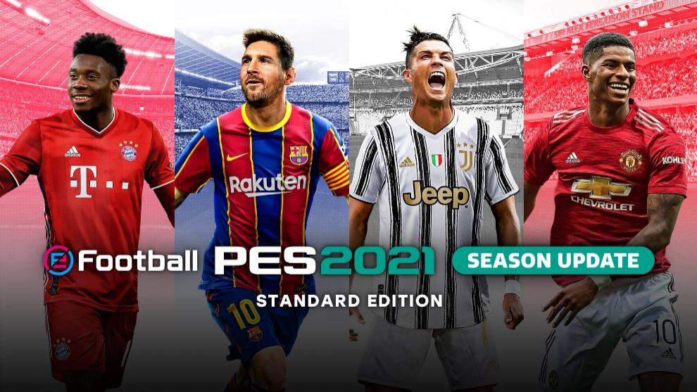 Ya está disponible la versión gratuita de eFootball PES 2021