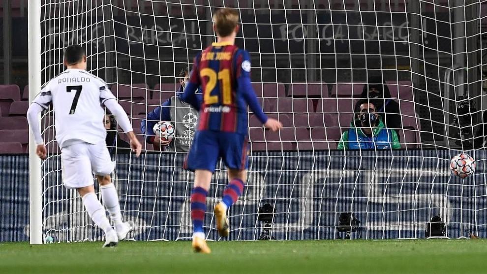 Barcelona - Juventus: Cristiano rompe su sequía goleadora contra el Barça en la Champions con un doblete | Marca.com