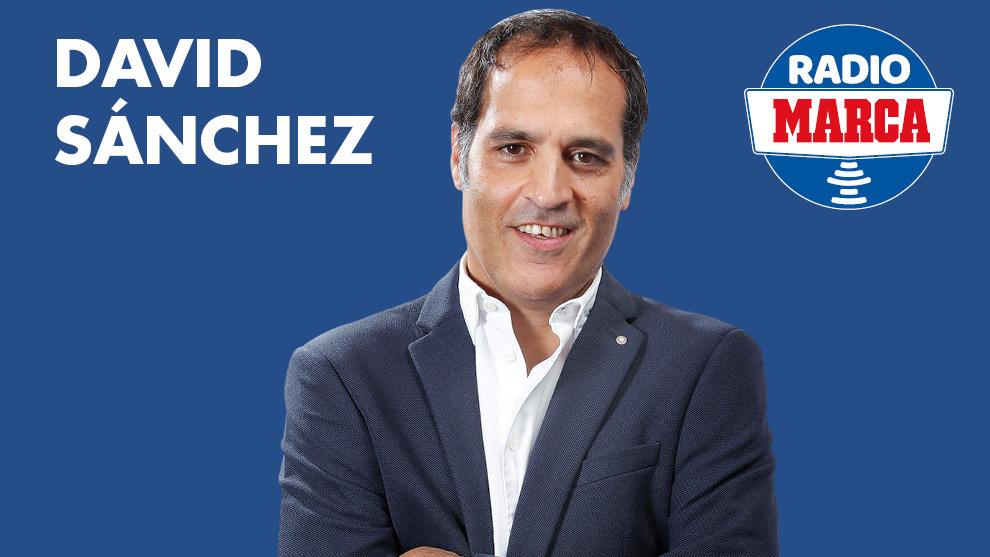 David Sánchez, en Radio MARCA.
