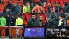 Imágenes de la suspensión del Istanbul-PSG