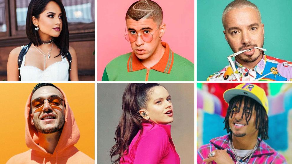 Elegidos los 25 mejores cantantes de reguet