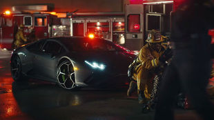 Captura del vídeo de la canción '911' de Lady Gaga.