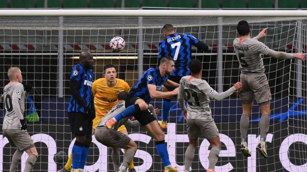 Inter y Shakhtar, fuera: el empate se dio en Milán