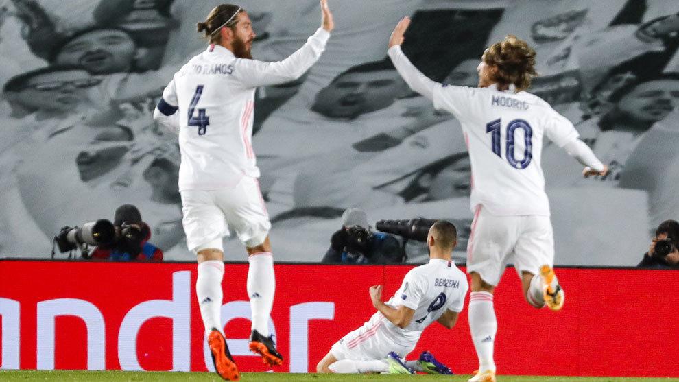 El mejor Madrid siempre aparece en las finales: a octavos.... ¡y como primero!