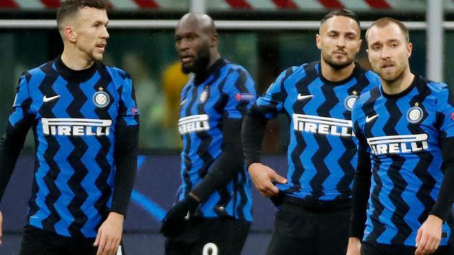 Lamentos del Inter de Milán frente al Shakhtar.