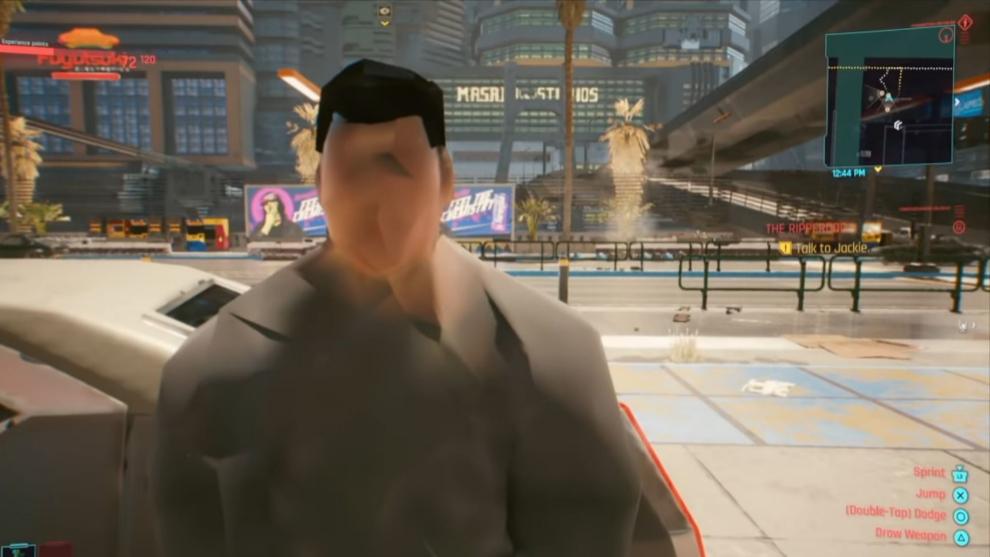 Las texturas han supuesto uno de los grandes problemas de Cyberpunk...