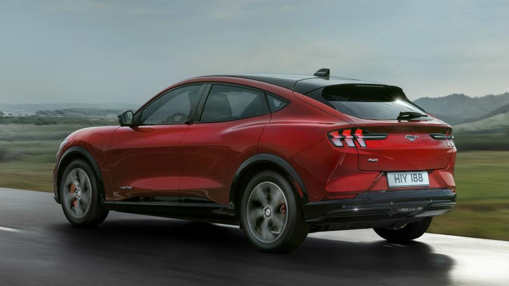 El Mustang Mach-E tiene tres modos de conducción