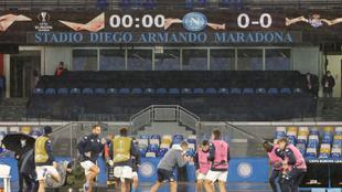 Napoli rebautizó su estadio bajo el nombre Diego Armando Maradona.  