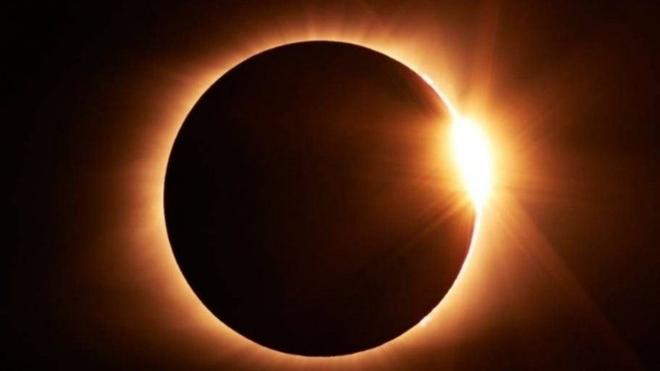 Cómo ver de forma segura el Eclipse Solar del 14 de diciembre y no...