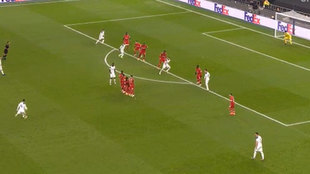 La increíble falta de Bale desde su casa que le estropeó el portero... y se apuntó ¡Vinícius!