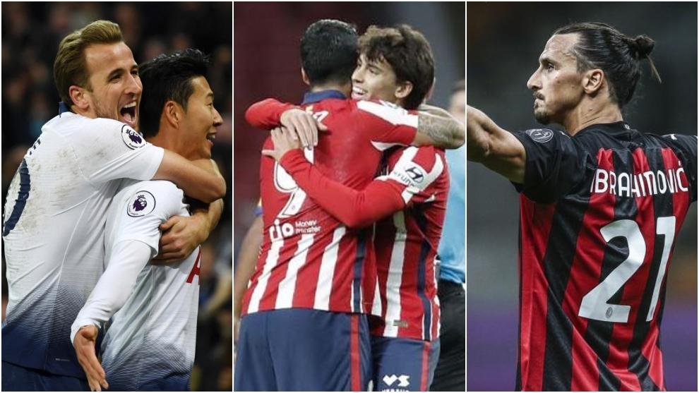 Kane, Suarez and Joao Felix, Ibrahimovic.