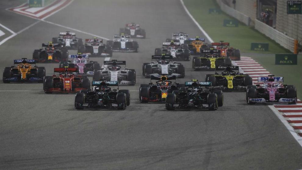 Horario y donde ver hoy en TV el GP de Abu Dhabi de Formula 1